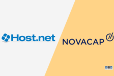 NOVACAP and Management Acquire Host.net