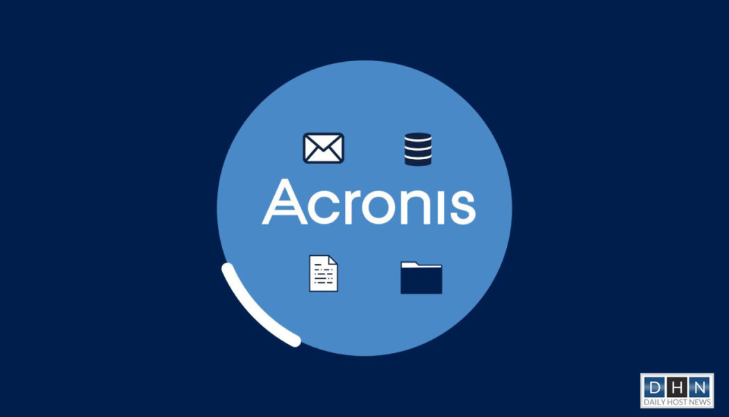 Acronis celebrates business growth with success of new hybrid cloud products