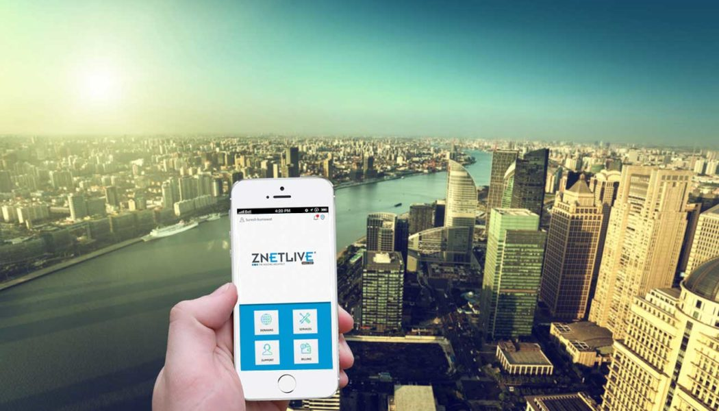 ZNetLive launches first of its kind customer self-service mobile app for its clients