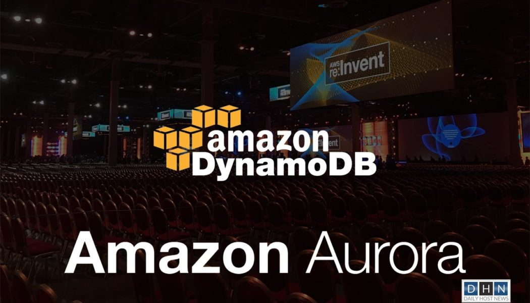 AWS unveils new database and container services