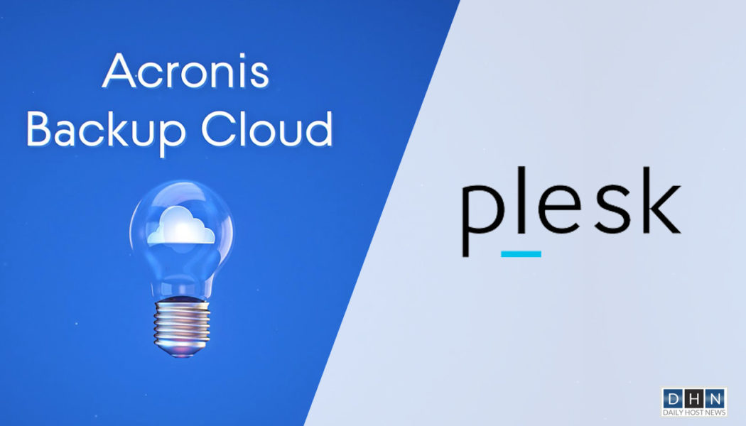 Plesk and Acronis partner to provide easy server-backup and recovery solution