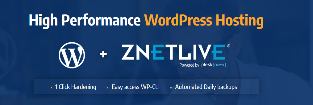 ZNetLive WordPress Hosting