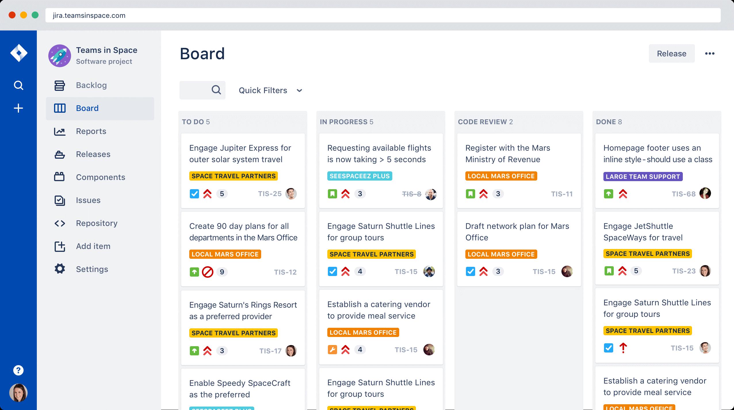 JIRA for DevOps collaboration