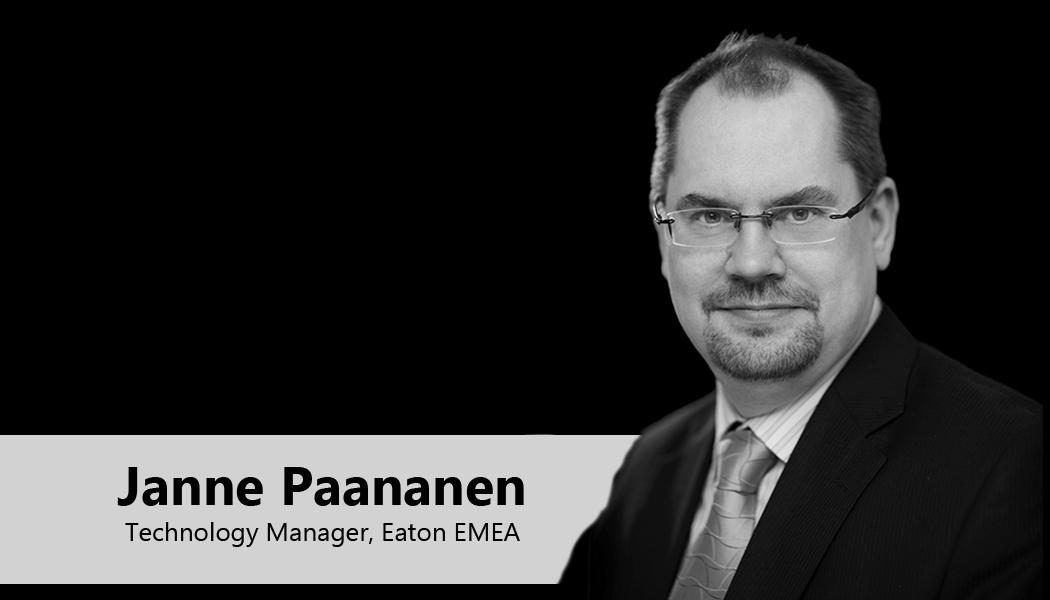 Janne Paananen, Technology Manager, Eaton EMEA