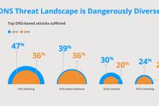 Average cost per DNS attack