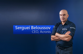 Serguei Beloussov, Founder, Acronis