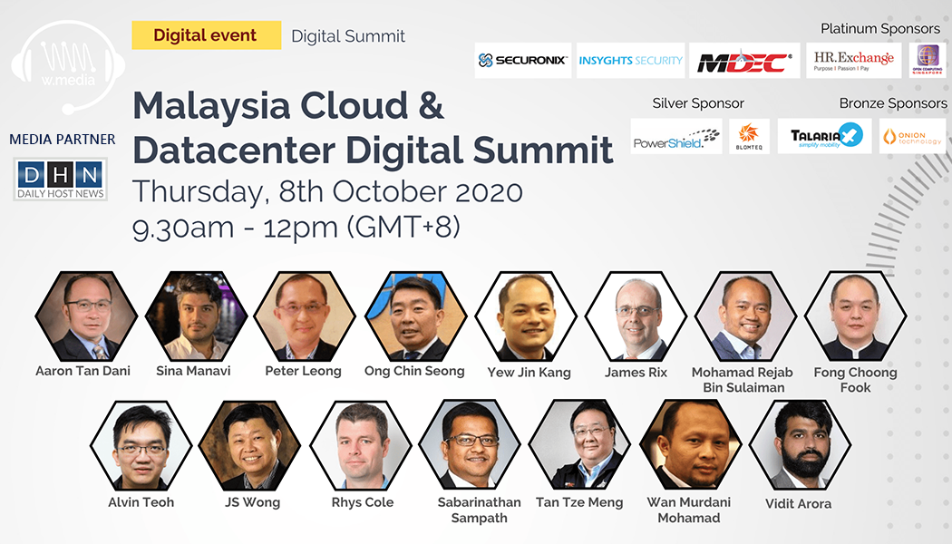 Malaysia on the fast lane to become Cloud Computing Hub – Malaysia Cloud & Datacenter Digital Summit 2020