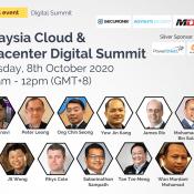 Malaysia on the fast lane to become Cloud Computing Hub – Malaysia Cloud & Datacenter Digital Summit 2020