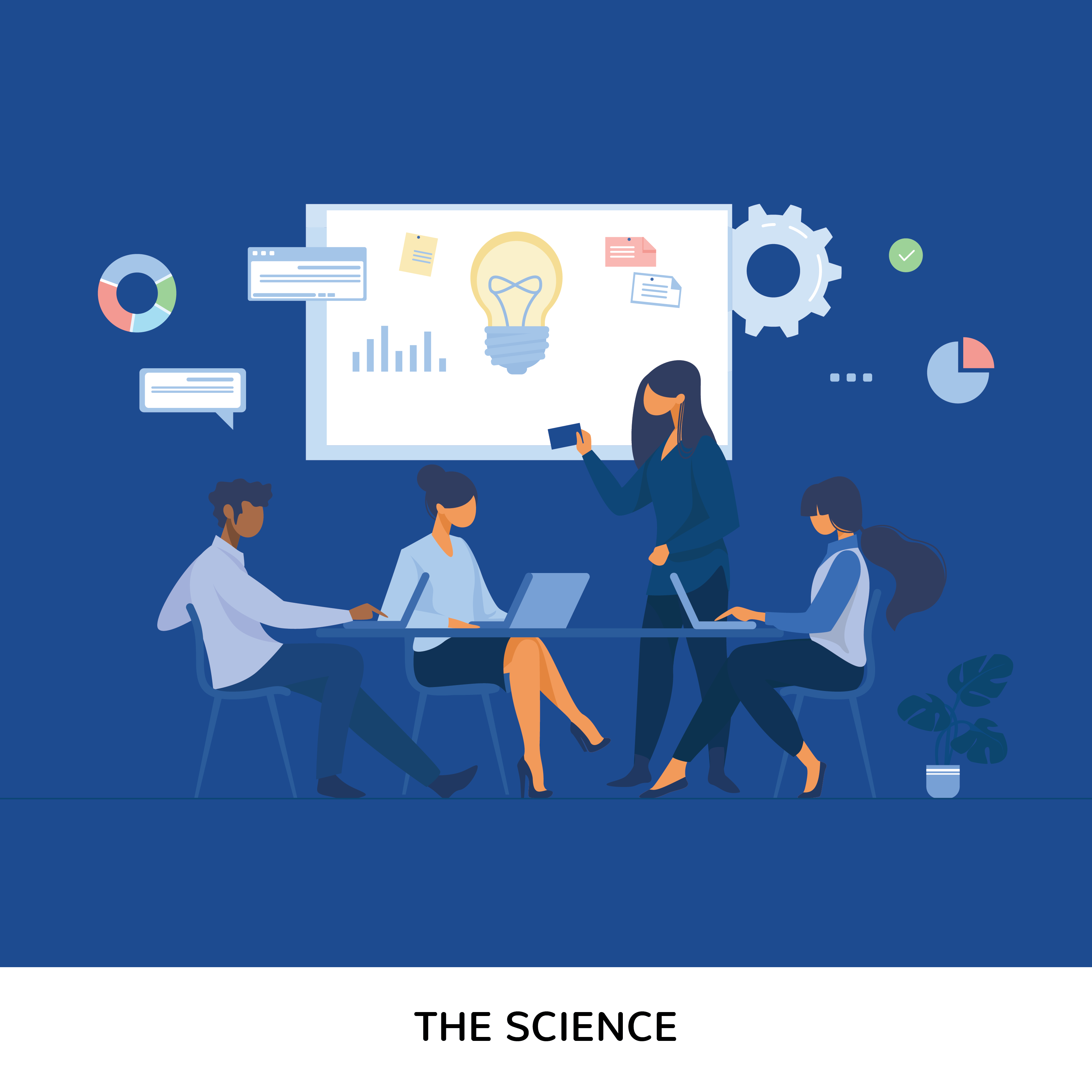 The Science of report writing is all about widening your vision
